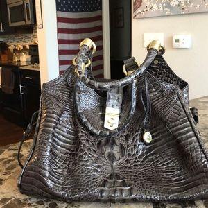 Authentic alligator Brahmin bag.Very clean.